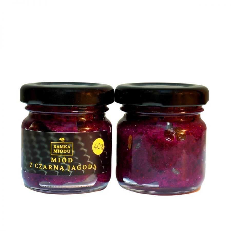 Miód z jagodami liofilizowanymi 40gram