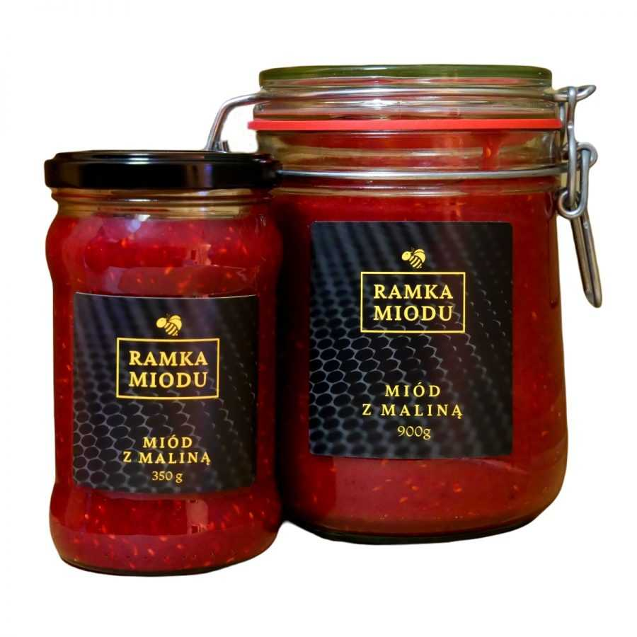 Miód z maliną-miody smakowe