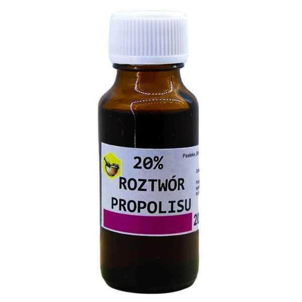 roztwór propolisu-krople 20%